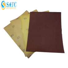 papier abrasif imperméable