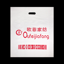 Polyethylene Plastic Shopping Die Cut Bag