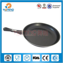 28cm round non-stick carbon steel fry pan