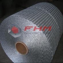 Malla de alambre hexagonal para material de aislamiento
