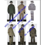Military Camouflage Battle Dress Uniform BDU Pant BDU Shirt BDU Cap Military Fatigue Uniform Wool Uniform Training Suits Overall Uniform