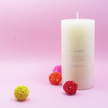 vax Ivory pillar candle