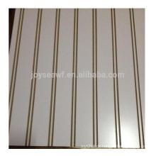 Hochglanz UV-geschliffener Schlitz MDF / 18mm Schlitz MDF