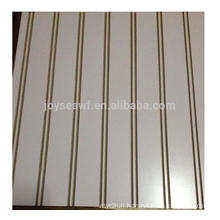 high gloss UV faced slot MDF / 18mm Slotted MDF