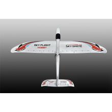 8chanel 2.4G Tramsmitter 35A ESC Dual Motors Driven System RC Plane