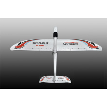 8chanel 2.4 г передатчик током до 35А с двумя двигателями управляемый системой RC самолет