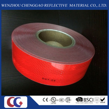 Solid Red Self-Adhesive Reflective Material
