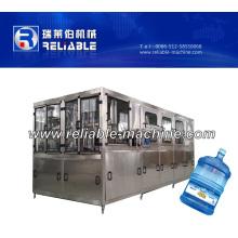 Máquina de rellenar automática del tarro de 5 galones para el agua potable