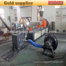 Caco3 enchimento masterbatch extrusão máquina bom preço