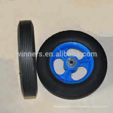 8 x 1,75 pequena roda de borracha maciça para carrinho de brinquedo