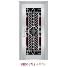 Двери из нержавеющей стали за пределами Солнца (СБН-6711)