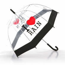 Edge Straight Transparent Umbrella (BD-50)