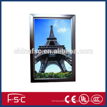 Aluminum window frame parts led aluminum slim light box