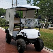 CE gasoline 6 passenger golf cart