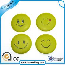 Épinglette faite sur commande de collier de badge d'insigne en métal de sourire pour promotionnel