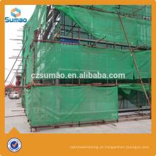 A melhor rede de segurança popular do andaime do HDPE da qualidade para a construção com anel