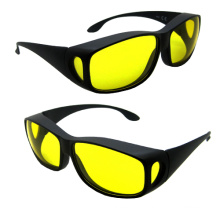 Dependable Performance Safety Eyewear (HD VISION GLASSES YELLOW LENS)