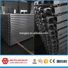 Plank de cubierta de aluminio con gran capacidad de carga ampliamente utilizado en el sistema Ringlock