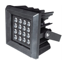 Square decorative 16w outdoor led flood light IP65