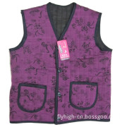 Old Lady Winter Warm Clothes Vest