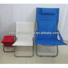 Garden furniture in metal, outdoor garden chairs, folding sun chair
