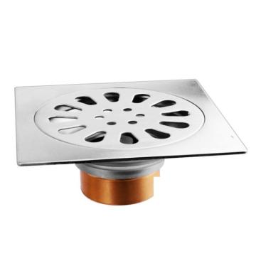 Desagüe de suelo de acero inoxidable para baño