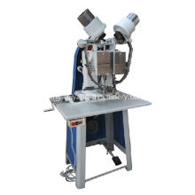 Tugas berat auto double head eyelet machine
