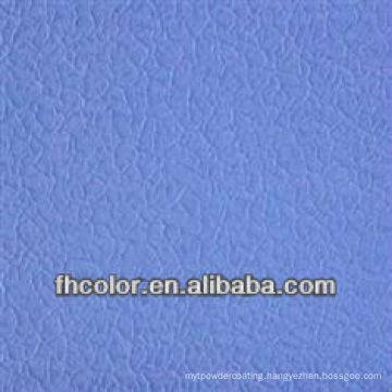 Metallic wrinkle powder paint coating
