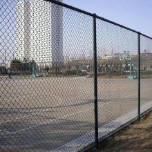Security Green PVC Coated  Diamond Fence