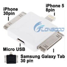 8 Pin Adapter/ 30 Pin Adapter /Samsung Galaxy Tab 30 Pin Adapter / Micro USB Adapte/Multi Functional Adapter for