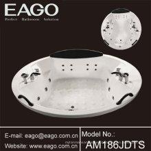Bañera de hidromasaje de acrílico Drop-in Bañeras de masaje / tinas para personas múltiples