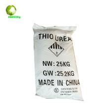 25 kg wover sacos china fábrica thiourea usa para fertilizantes 99.0% Min