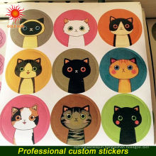 design custom paper/pvc/clear epoxy/tattoo/3d/3m/vinyl sticker for keyboard,laptop,car,window and wall