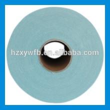 Traverser la pulpe de bois de polyester de visqueuse de croix / parallèle non-tissé