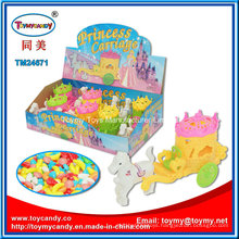 Princess Horse Carriage Toy with Candy