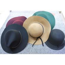 Sombrero de fieltro de lana trulby de moda de lujo sombrero de fieltro