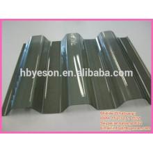 Techo de acero curvado / panel de techo de acero corrugado / paneles de metal corrugado