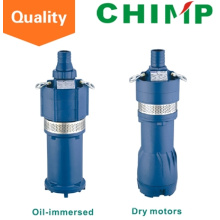 Q (D) Motor sumergido o bomba sumergible de etapas múltiples con motor sumergido Q (D) 3-60 / 4-1.5 (Y)