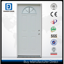 Fangda Pre-Hung Exterior Fanlite Glass Steel Door