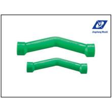 ISO bescheinigte PPR-Biegungs-Rohrfitting-Form / Formteil
