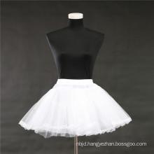 Hot sale flower girl panier skirt slips crinoline bridal wedding lace petticoat