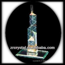 Magnifique bâtiment en cristal modèle H050
