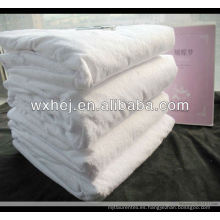 protector de colchón impermeable ultrafino del paño grueso y suave de nylon del poliéster de nylon