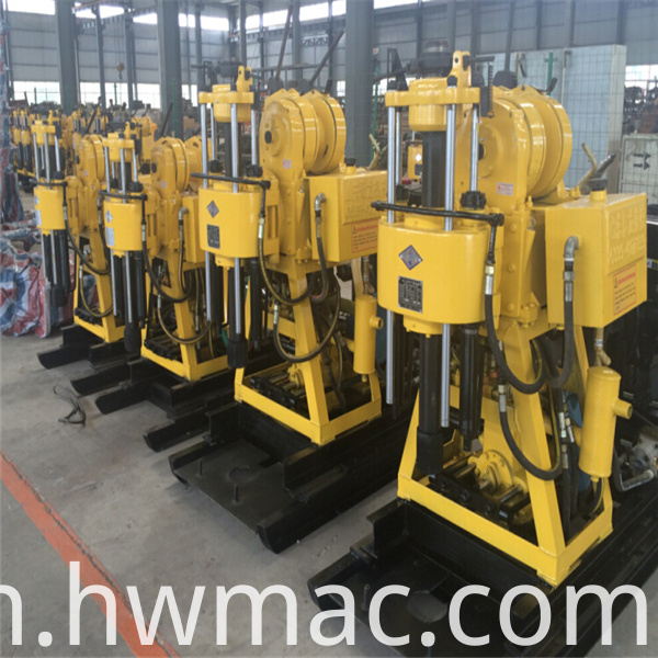 Water Well Drilling Rig Machine