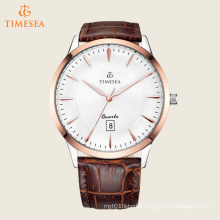 Men′s White Dial Quartz Wrist Watches with Date Display 72458