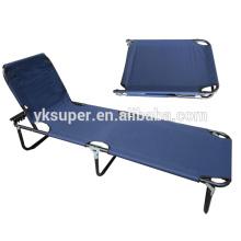 Cama de acampamento ao ar livre, cama de praia dobrável, cama ao ar livre