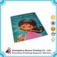 Libros de colorear congelados personalizados de tapa dura para niños