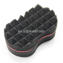 Esponjas de esponja Twist Cabello Twist Black Ice Sponge