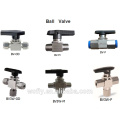 3/8 inch ss304 gas full welding ball valve 2 way or 3 way