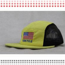 Benutzerdefinierte Radfahren 5 Panel Camp Hüte zum Verkauf